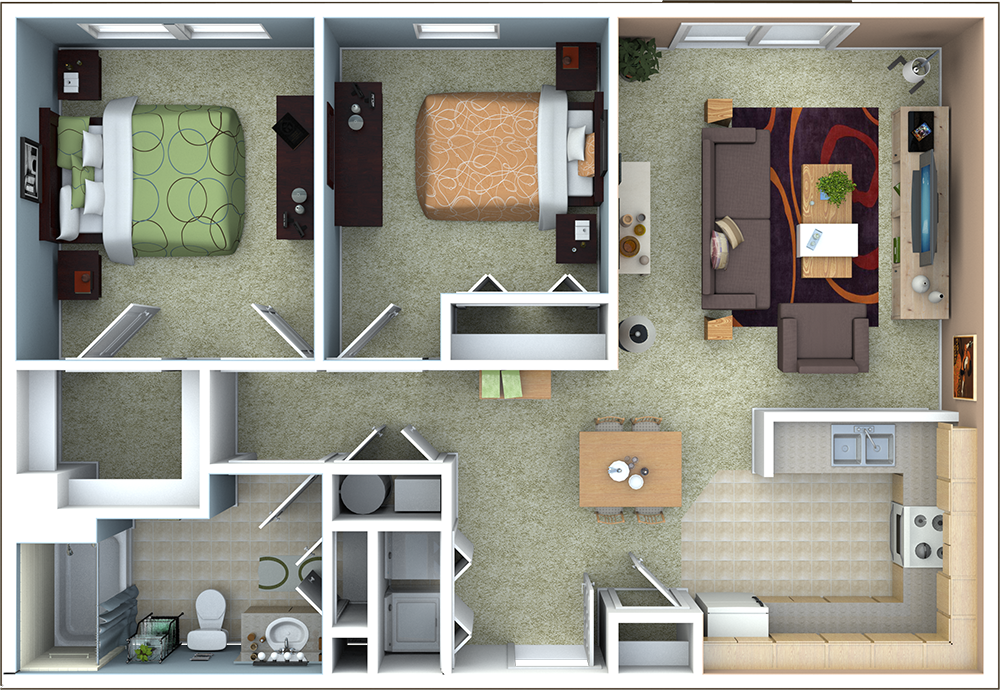 Richmond Apartments Floor Plans