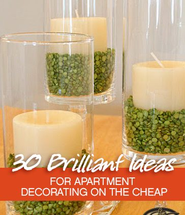 30 brilliant ideas for apartment decorating on the cheap